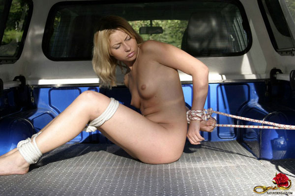 Bondage in the car opinion